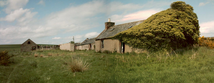 Steading and Croft at Baikiehill