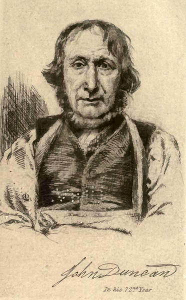 Sketch of John Duncan, Alford Botanist and Weaver