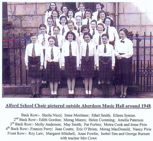 Alford School Choir at Aberdeen Music Hall