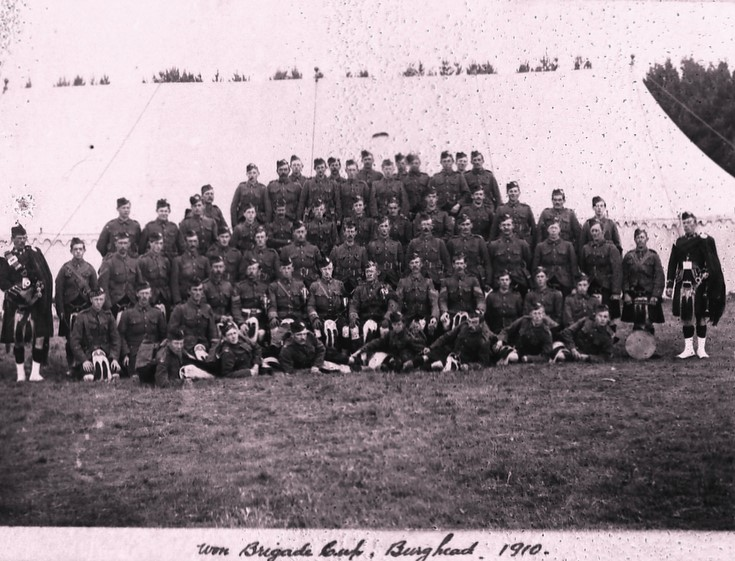 Brigade Camp at Burghead