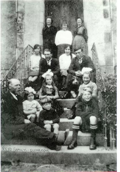 The Reid family, Glenlogie