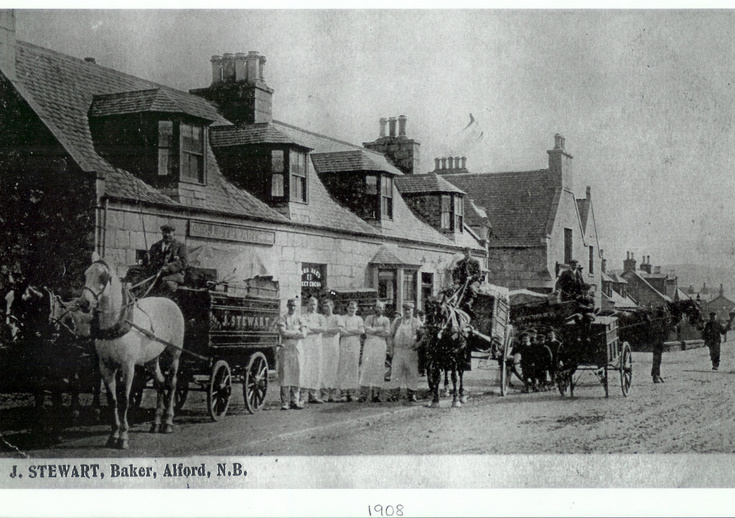 Staff of Stewart the Baker, Alford