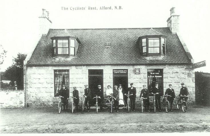 The Cyclist's Rest, Alford