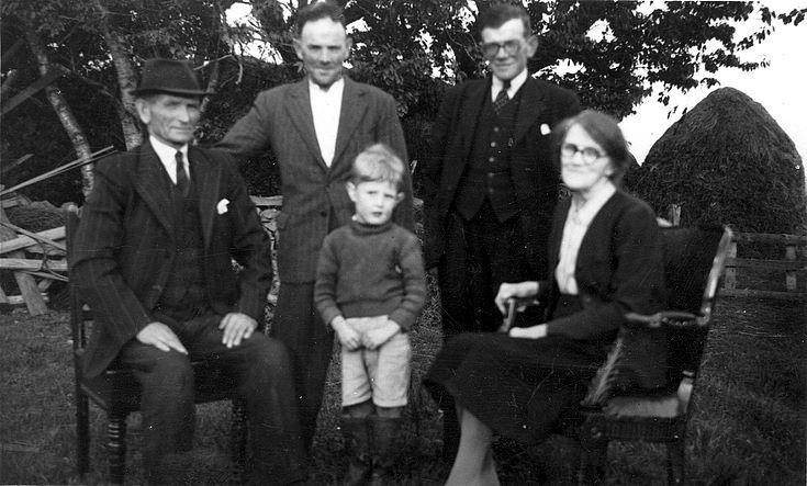 The Reid family, Shannoch Farm