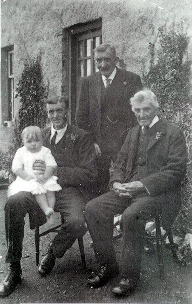 Thomson family at Easterbuchat