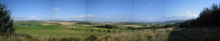 Bennachie from Knocksaul