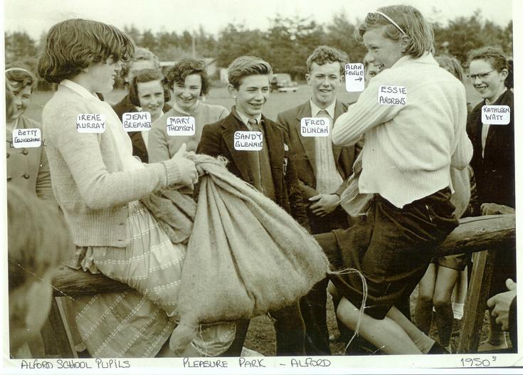 Alford School pupils enjoy the Pleasure Park
