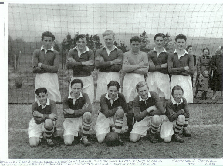 Montgarrie Football Team