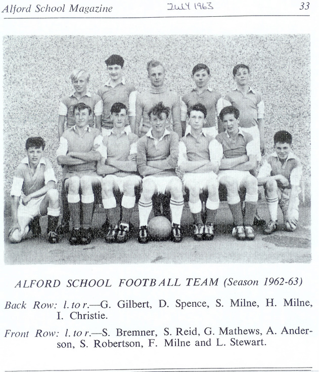 Alford School Football Team