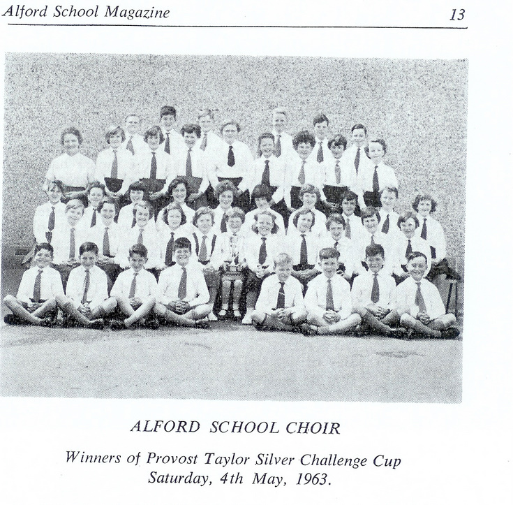 Alford School Choir