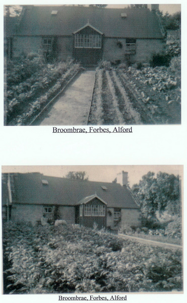 Broombrae, Forbes, Alford