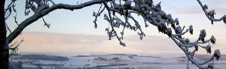 Snow capped Pressendye