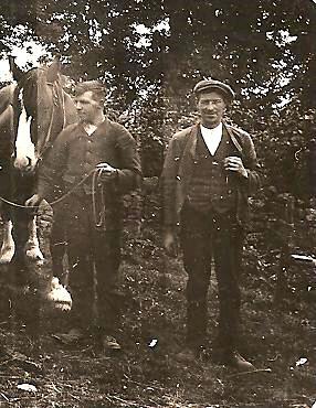 Farmworkers at Kirkton Farm, Cushnie