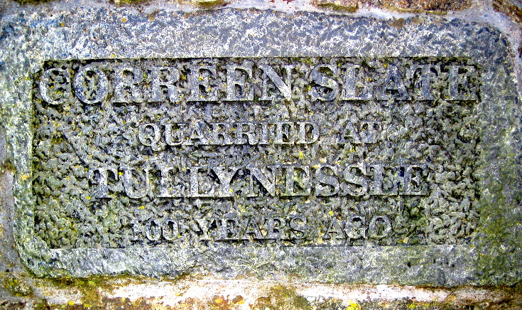 Mason's marks at Alford Bull Monument