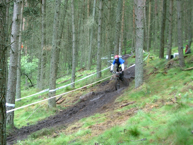 Championships at Pitfichie downhill trail