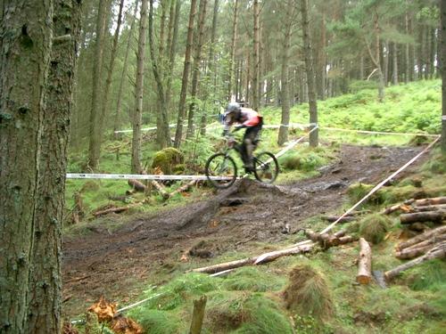Downhill Mountainbike Championship at Pitfichie