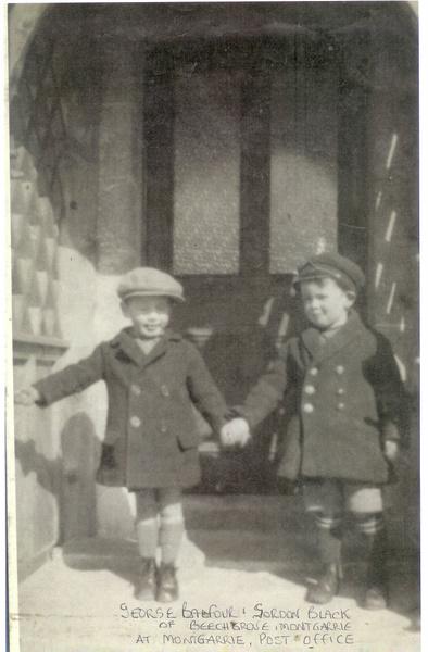 George Balfour and Gordon Black