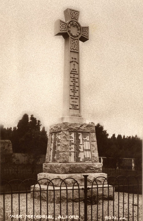 The Alford War Memorial