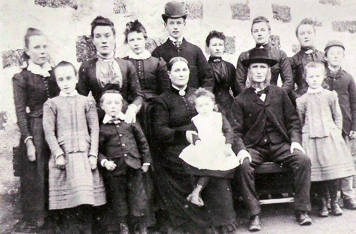 The Riach Family at Newton of Corse, Coull
