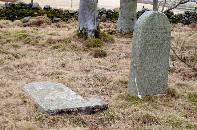 Forbes Gravestones at the Terry Chapel Ruins