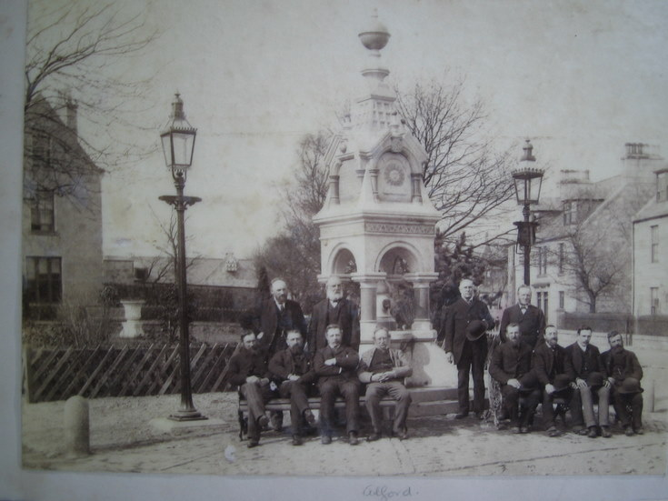 Civic Dignitaries at the Alford Fountain