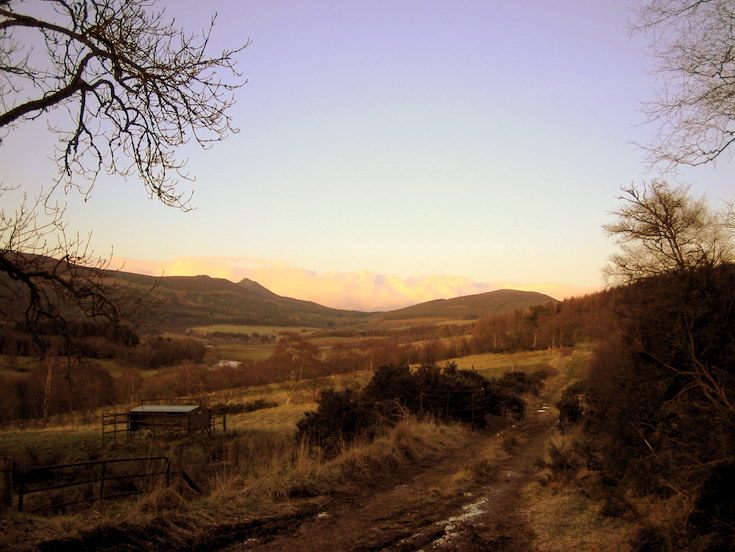 Mither Tap and Millstone Hill from Keig