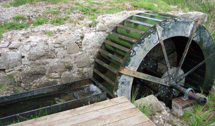 Water Wheel at Craigievar