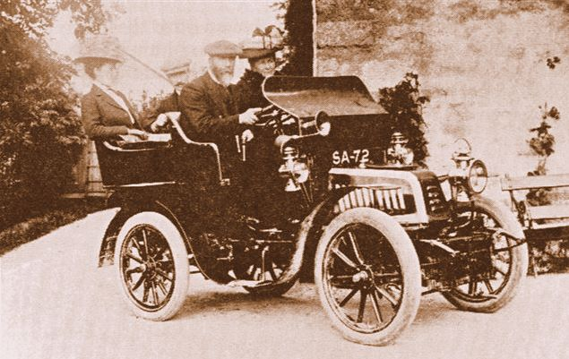Postie Lawson and his Motor Car