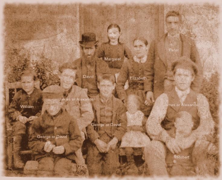 David Kemp and family