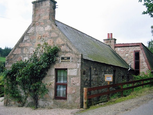 The Old Schoolhouse at Craigievar