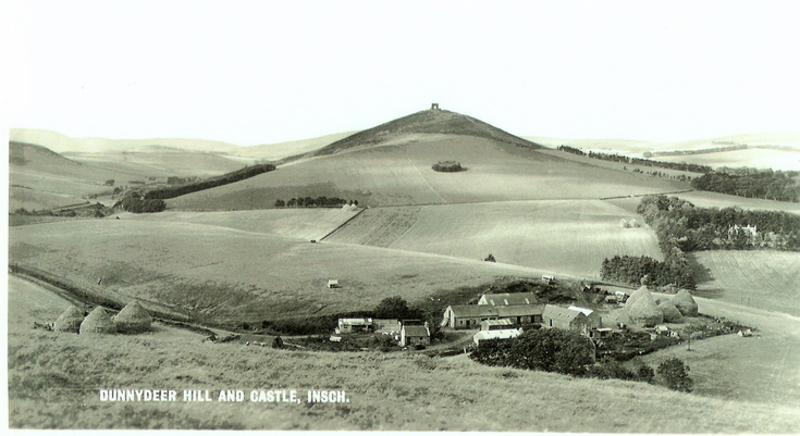 Dunnydeer Hill and Castle, Insch.