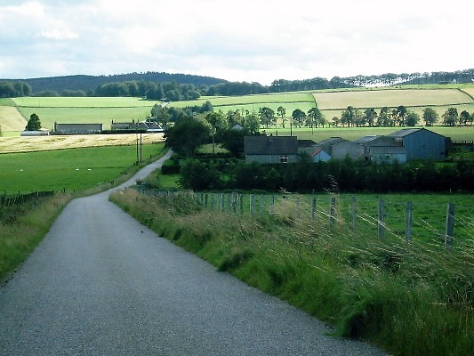 Countryside near to Ladymill, Muir of Fowlis