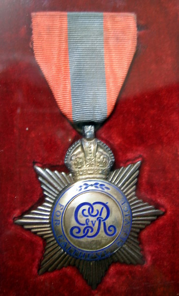 Postie Lawson's Long Service Medal