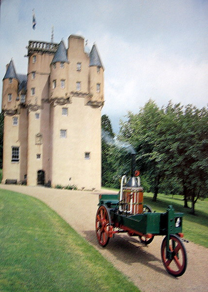 Craigievar Express at Craigievar Castle